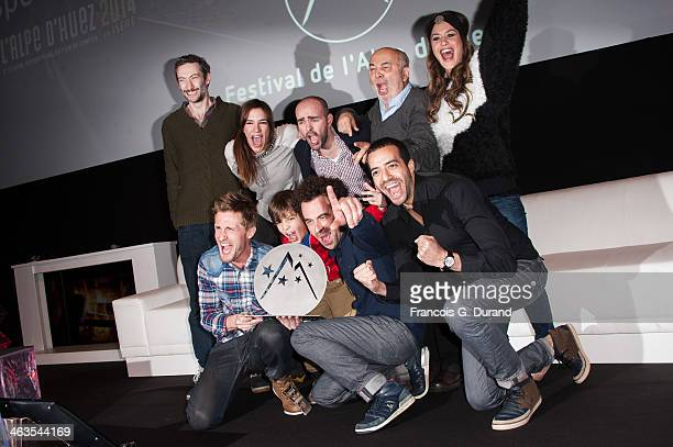 French actors Gerard Jugnot Julien Arruti Philippe Lacheau Charlotte Gabris Alice David Vincent Desagnat Enzo Tomasini French director Nicolas...