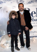 French actors Mehdi El Glaoui and Felix Bossuet pose before the presenttaion of the movie 'Belle and Sébastien' on November 17 2013 in Paris AFP...