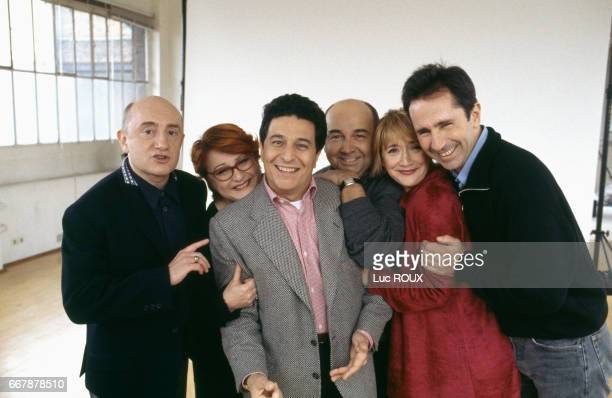 French actors Michel Blanc Josiane Balasko Christian Clavier Gerard Jugnot MarieAnne Chazel and Thierry Lhermitte are the original actors of the...