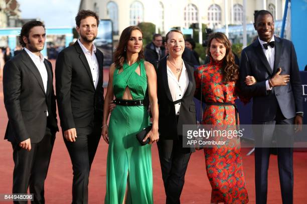 French actors Pio Marmai Pierre Rochefort FrenchChilean actress Leonor Varela French actresses Emmanuelle Bercot Anais Demoustier and French singer...
