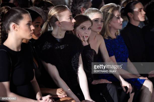 French actress Adele Exarchopoulos British actress Sophie Turner French actress Isabelle Huppert US actress Michelle Williams French actress...