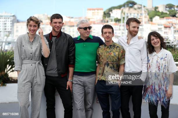 French actress Adele Haenel French actor Arnaud Valois French director Robin Campillo Argentinian actor Nahuel Perez Biscayart French actor Antoine...