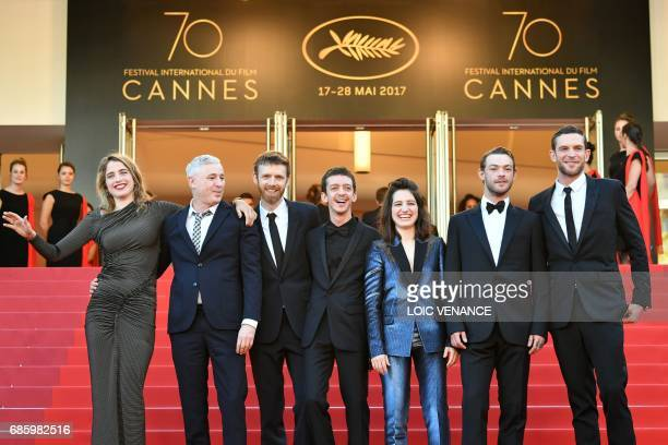 French actress Adele Haenel French director Robin Campillo French actor Antoine Reinartz Argentinian actor Nahuel Perez Biscayart French actress...
