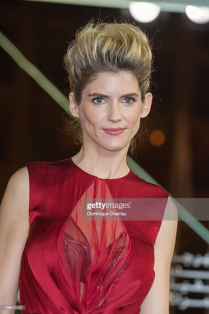 French actress Alice Taglioni arrives to the awrard ceremony of the 12th International Marrakech Film Festival on December 8, 2012 in Marrakech, Morocco.
