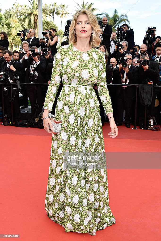 French actress Alice Taglioni attends the 'Cafe Society' premiere and the Opening Night Gala during the 69th annual Cannes Film Festival at the Palais des Festivals on May 11, 2016 in Cannes, France.