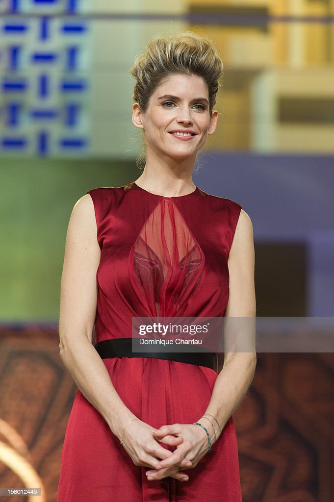 French actress Alice Taglioni attends the ceremony awrard of the 12th International Marrakech Film Festival on December 8, 2012 in Marrakech, Morocco.
