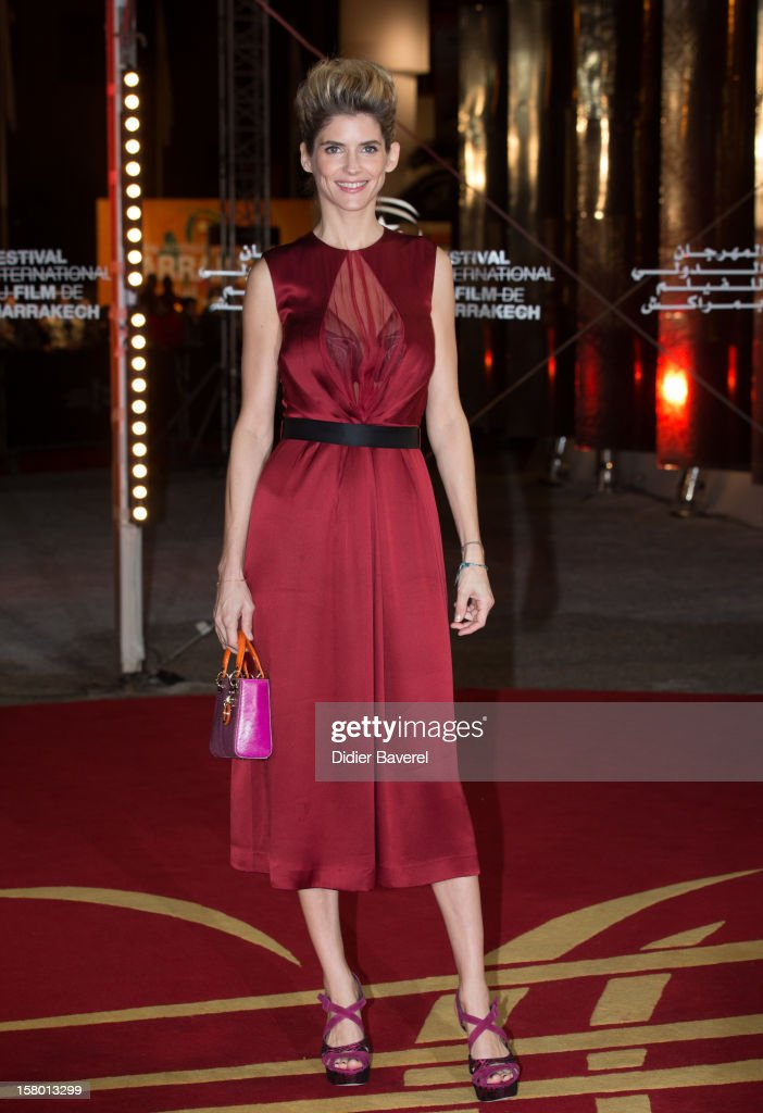 French actress Alice Taglioni attends the closing ceremony at the 12th International Marrakech Film Festival on December 8, 2012 in Marrakech, Morocco.