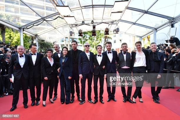 French actress Aloise Sauvage French actor Arnaud Valois French director Robin Campillo Argentinian actor Nahuel Perez Biscayart French actor Antoine...