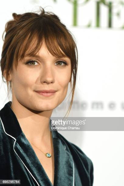 French actress Ana Girardot attends the 'Ce Qui Nous Lie' Paris Premiere at Cinema UGC Normandie on June 12 2017 in Paris France