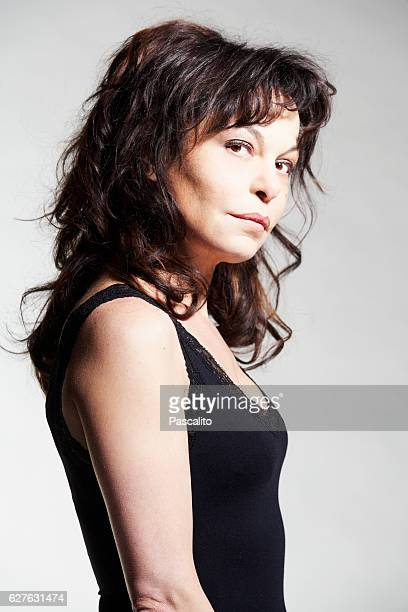 French actress and director Isabelle Mergault
