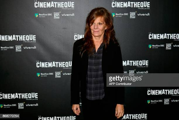 French actress and director Laure Duthilleul poses during a photocall prior to the screening of Polanski's movie 'D'apres une histoire vraie' at the...