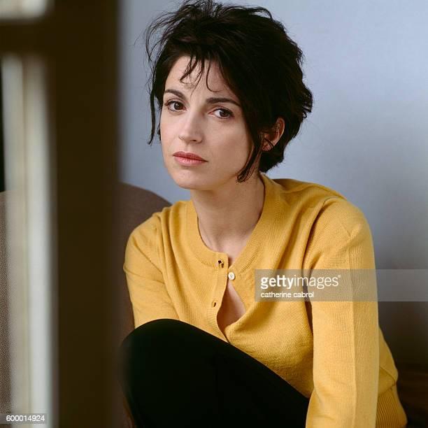 French Actress and Film Director Zabou Breitman