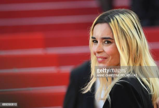 French actress and member of the Camera d'Or jury Elodie Bouchez arrives on May 28 2017 for the closing ceremony of the 70th edition of the Cannes...