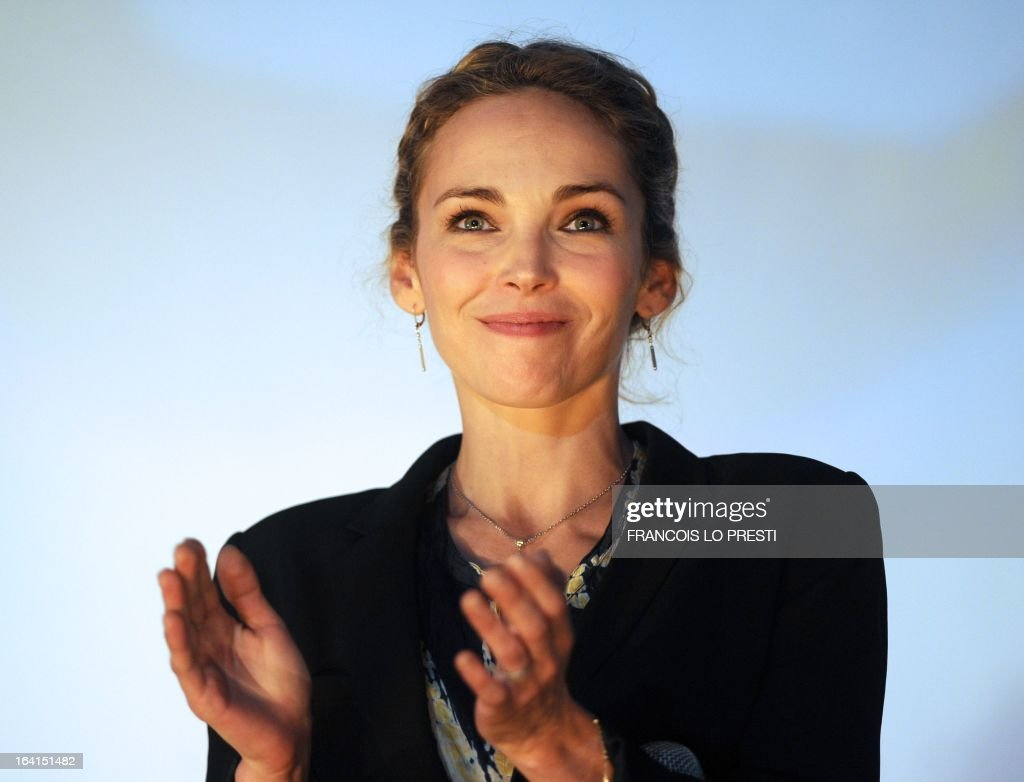 French actress and member of the jury for fictions, Claire Keim attends the Valenciennes Film Festival on March 20, 2013 in Valenciennes, northern France. Valenciennes Film Festival runs from March 18 to 24.