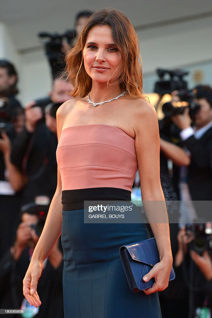 French actress and member of the jury, Virginie Ledoyen arrives for the award ceremony of the 70th Venice Film Festival on September 7, 2013 at Venice Lido.