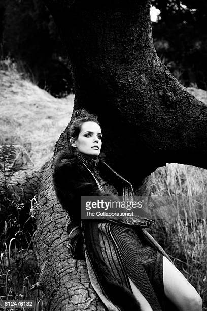 French actress and mode Roxane Mesquida is photographed for Filler Magazine on August 24 2016 in Los Angeles California COVER IMAGE