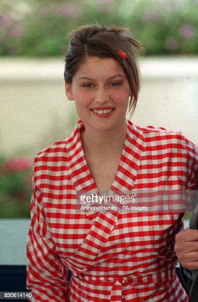 French actress and model Laetitia Casta at a photocall for the forthcoming film Les Ames Fortes at the Cannes Film Festival