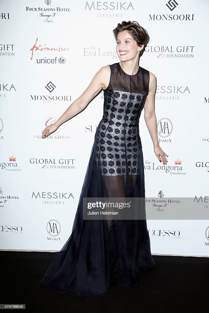 French actress and model <a gi-track='captionPersonalityLinkClicked' href=/galleries/search?phrase=Laetitia+Casta&family=editorial&specificpeople=203075 ng-click='$event.stopPropagation()'>Laetitia Casta</a> attends the Global Gift Gala at Four Seasons Hotel George V on May 25, 2015 in Paris, France.
