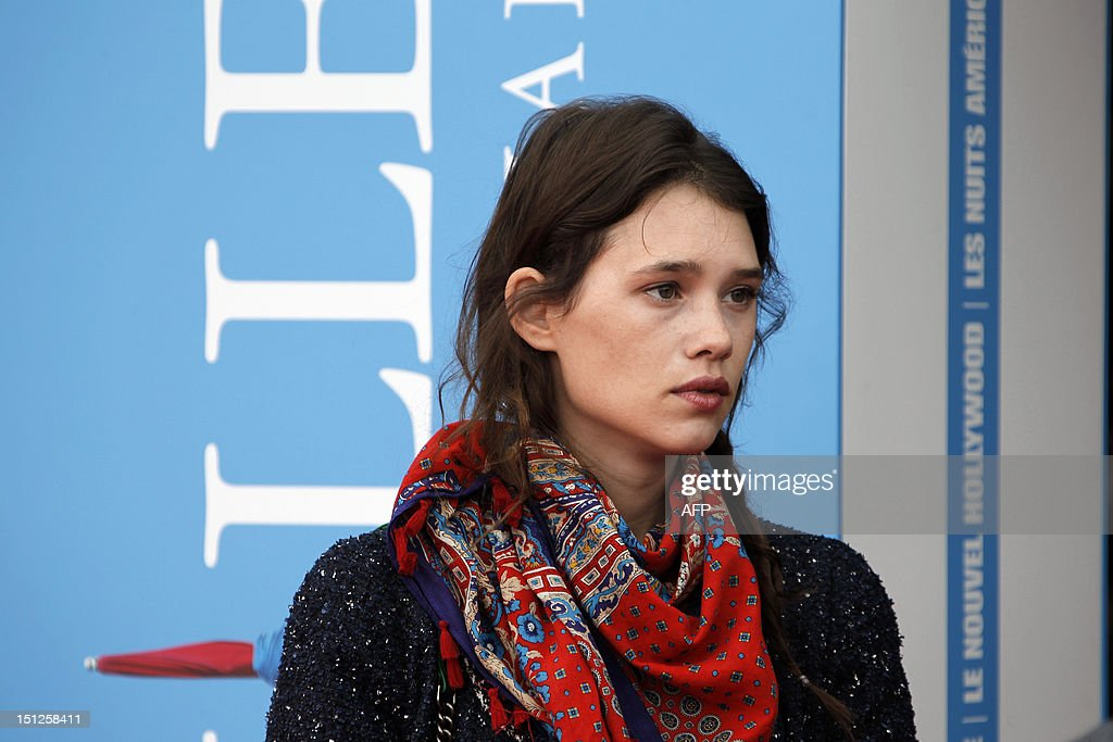 French actress Astrid Berges-Frisbey arrives for the screening of the movie 'Francine' on September 5, 2012 in Deauville on the 6th day of the 38th American Film Festival.