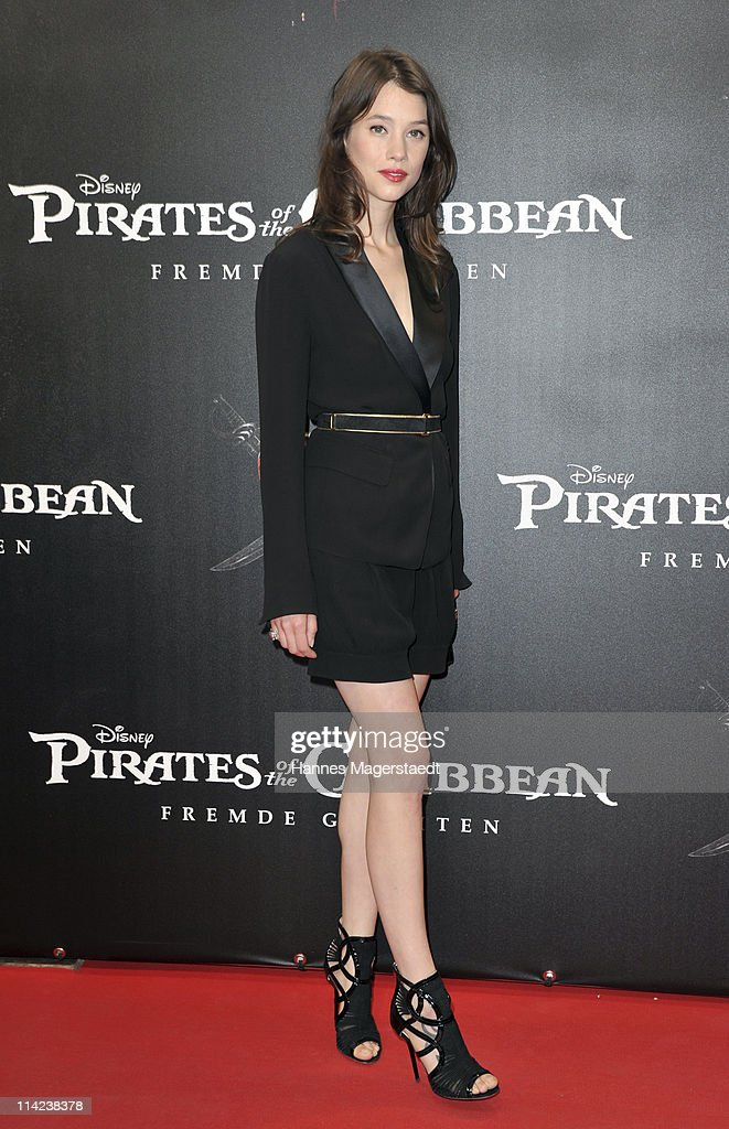 French actress Astrid-Berges Frisbey poses during the Germany Premiere of 'Pirates Of The Caribbean: On Stranger Tides' at the Mathaeser Filmpalast on May 16, 2011 in Munich, Germany.
