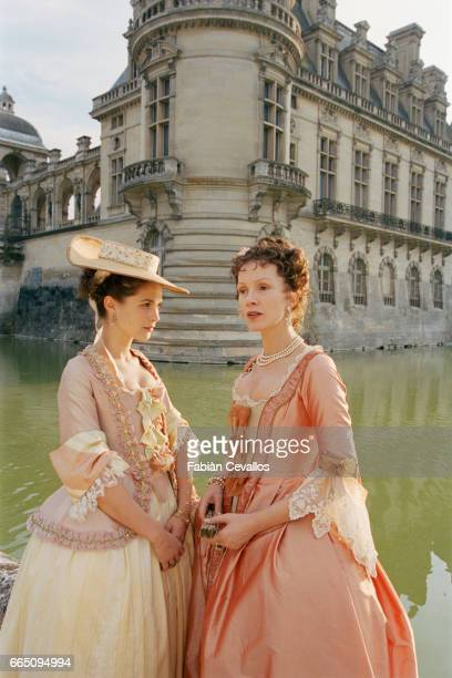 French actress Barbara Schulz and German actress Katja Flint star in TV film 'Le jeune Casanova' directed by Giacomo Battiato