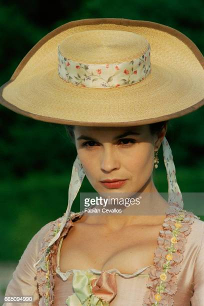 French actress Barbara Schulz stars in TV film 'Le jeune Casanova' directed by Giacomo Battiato