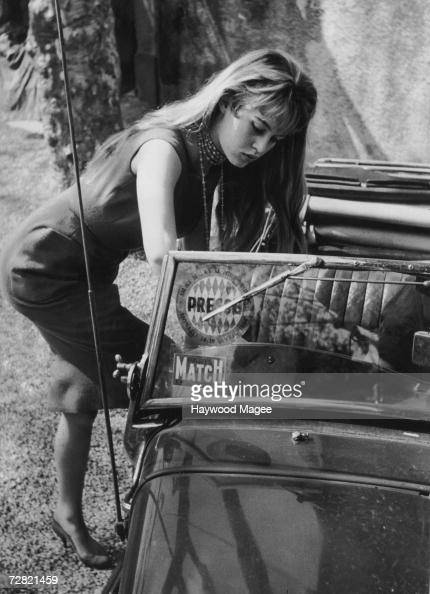French actress Brigitte Bardot at the Cannes Film Festival 12th May 1956 Original Publication Picture Post 8378 Discovery At Cannes pub 1956