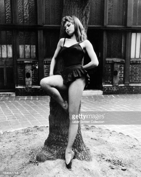 French actress Brigitte Bardot in a publicity still for 'En Effeuillant La Marguerite' aka 'Mam'selle Striptease' aka 'Plucking The Daisy' directed...