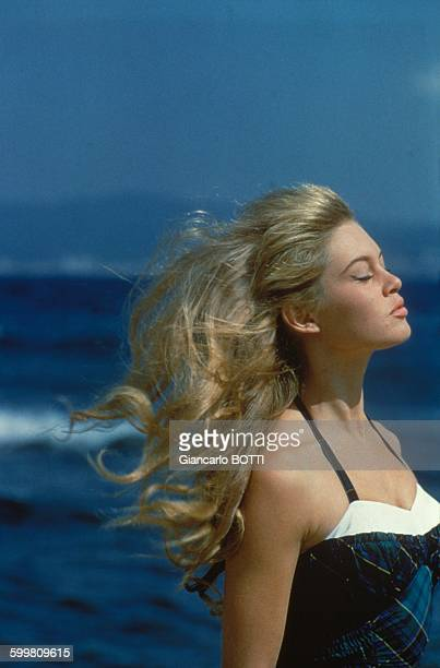 French actress Brigitte Bardot in France circa 1960