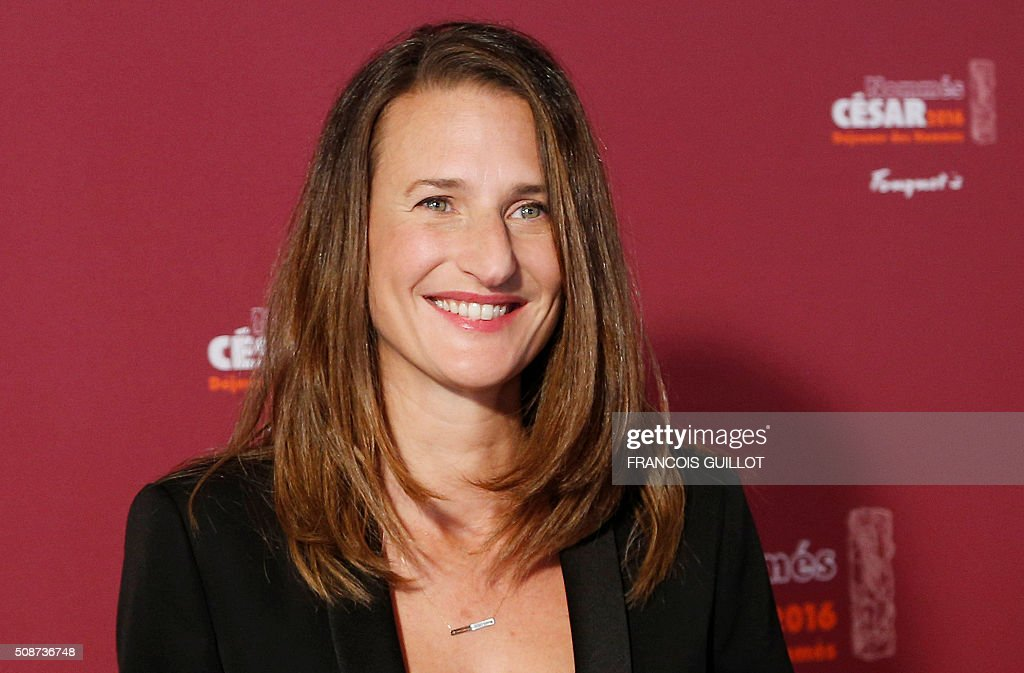 French actress Camille Cottin, nominated as Best Female Newcomer, poses during the nominations event for the 2016 César film awards, on February 6, 2016 in Paris. The 41st Ceremony for the Cesar film award, considered as the highest film honour in France, will take place on February 26, 2016. / AFP / FRANCOIS GUILLOT