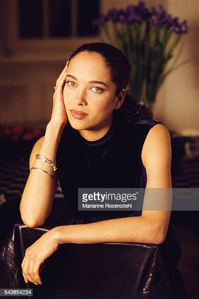 French actress Carmen Chaplin granddaughter of the British actor and director Charlie Chaplin
