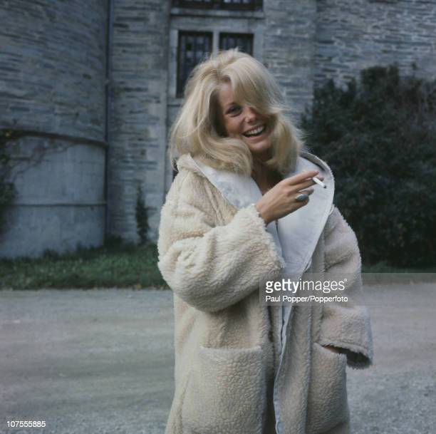 French actress Catherine Deneuve 1963