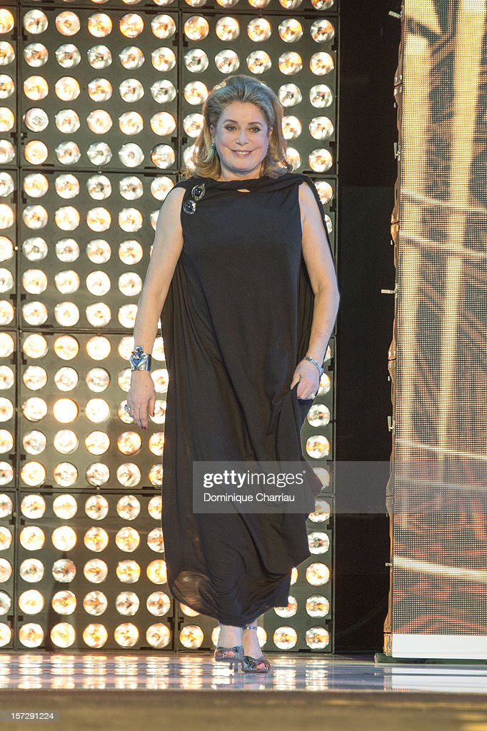 French actress Catherine Deneuve arrives for the tribute to Hindi cinema at the 12th Marrakech International Film FestivalMarrakech International 12th Film Festival on December 1, 2012 in Marrakech, Morocco.