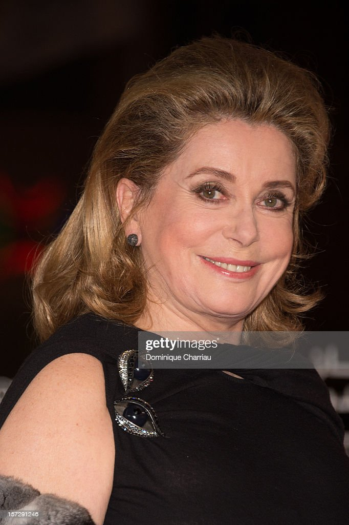French Actress Catherine Deneuve arrives for the tribute to Hindi cinema at the 12th Marrakech International Film Festival on November 30,Marrakech International 12th Film Festival on December 1, 2012 in Marrakech, Morocco.