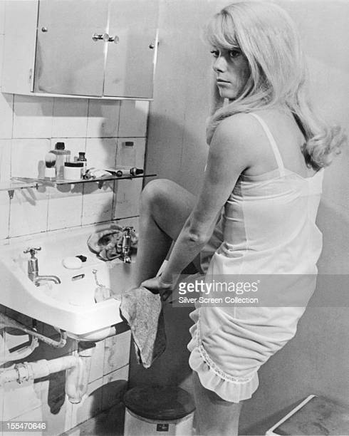French actress Catherine Deneuve as Carole Ledoux in 'Repulsion' directed by Roman Polanski 1965