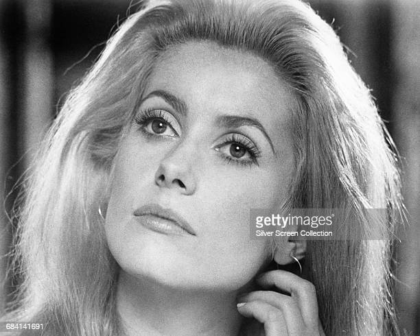 French actress Catherine Deneuve as Nicole Britton in the film 'Hustle' 1975