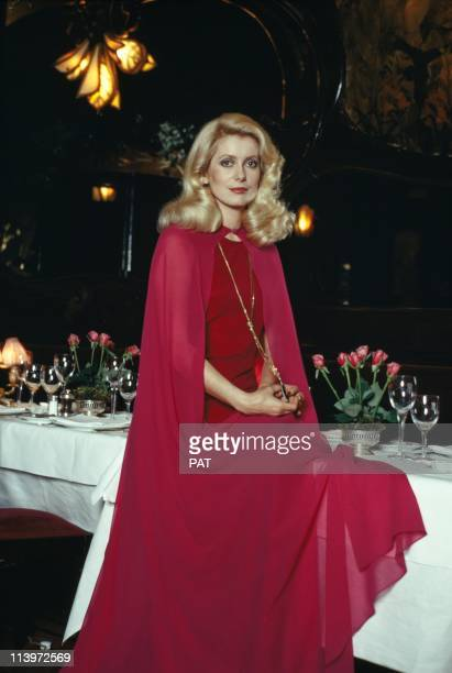 French Actress Catherine Deneuve at Maxim s In Paris France On December 31 1973French actress Catherine Deneuve at Maxim's in December 31 1973