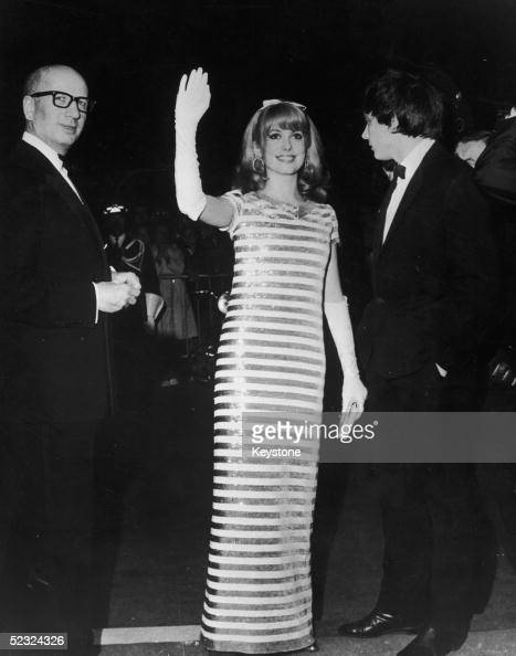 French actress Catherine Deneuve at the Cannes FIlm Festival 9th May 1966