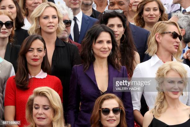 French actress Catherine Deneuve French actress Isabelle Huppert AustralianUS actress Nicole Kidman FrenchArgentinian actress Berenice Bejo French...