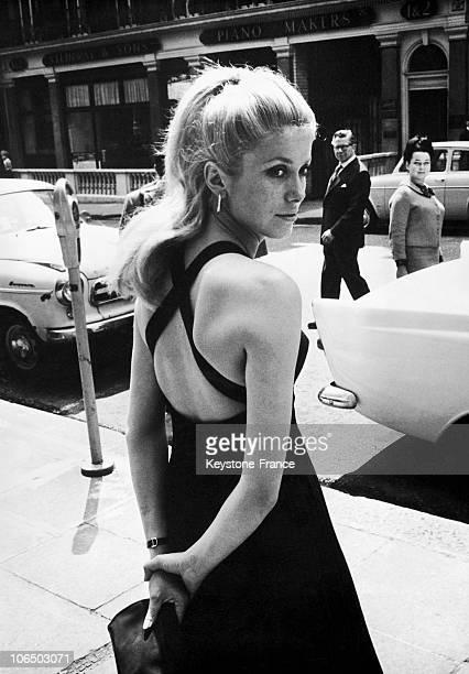 French Actress Catherine Deneuve In London