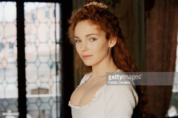 French actress Claire Keim stars in TV film 'Le jeune Casanova' directed by Giacomo Battiato