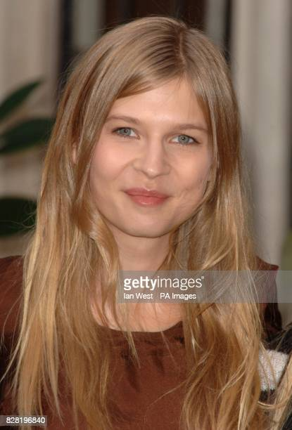 French actress Clemence Poesy during a photocall for the new Harry Potter film 'Harry Potter and the Goblet of Fire' at the Merchant Taylor's Hall...