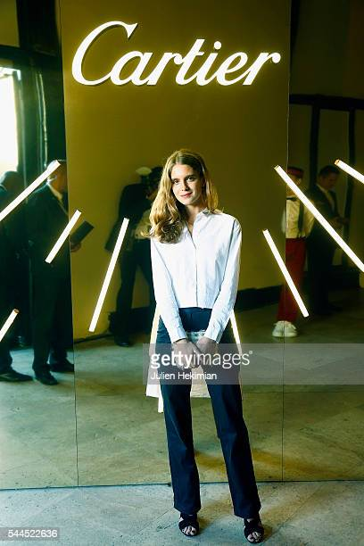 French actress Dolores Doll attends the 'Cactus' Cartier Cocktail Party at Palais De Tokyo on July 2 2016 in Paris France