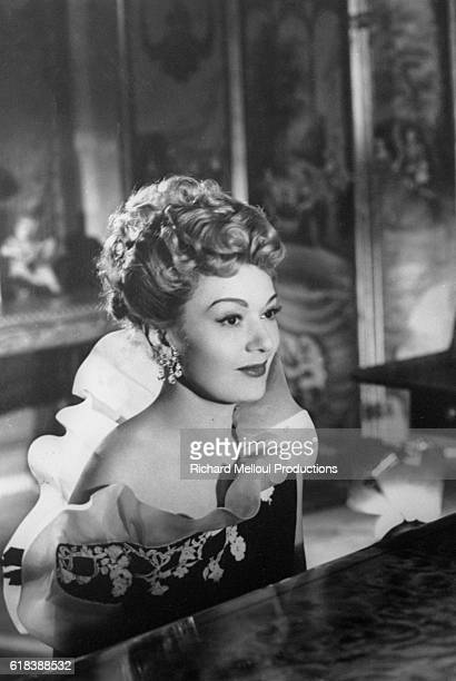 French actress Edwige Feuillere plays the lead female role of Colette Marly in the 1949 British film Woman Hater The film is directed by French...