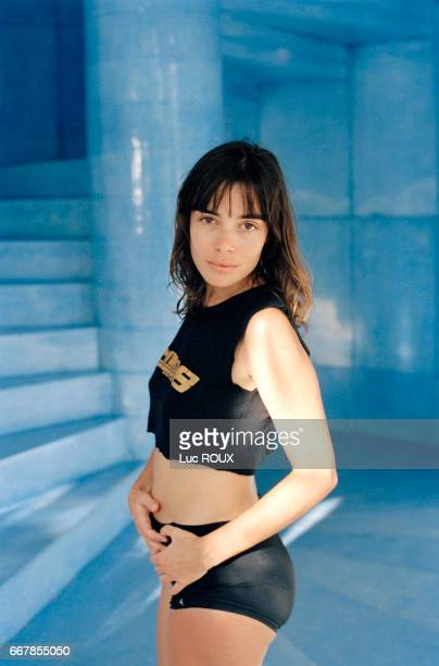 French actress Elodie Bouchez during the Festival d'Acapulco.