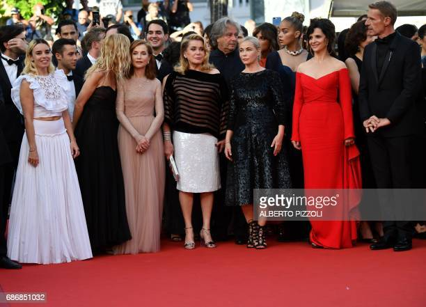 French actress Elodie Bouchez French actress Sandrine Kiberlain French actress Isabelle Huppert French actress Catherine Deneuve French actress...