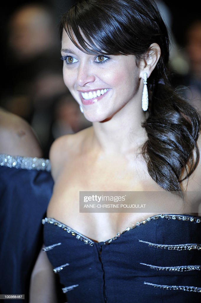 French actress Emma de Caunes arrives for the screening of 'Copie Conforme (Certified Copy) presented in competition at the 63rd Cannes Film Festival on May 18, 2010 in Cannes.