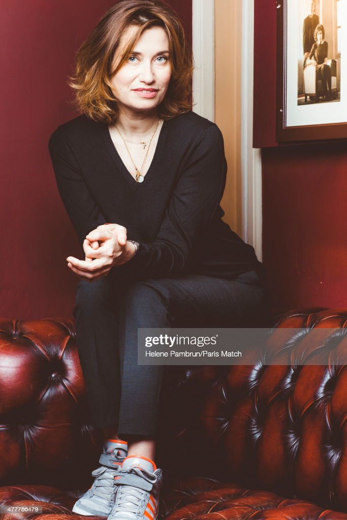 French actress <a gi-track='captionPersonalityLinkClicked' href=/galleries/search?phrase=Emmanuelle+Devos&family=editorial&specificpeople=220367 ng-click='$event.stopPropagation()'>Emmanuelle Devos</a> is photographed for Paris Match on Jjanuary 20, 2014 in Paris, France.