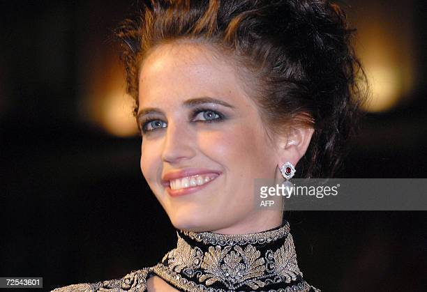 French actress Eva Green arrives at the world premiere of 'Casino Royale' the latest James Bond 007 action film in London's Leicester Square 14...