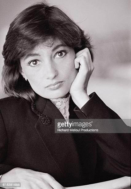French Actress Evelyne Bouix